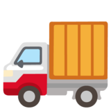 Delivery Truck on Google Android 12.0