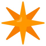 Eight-Pointed Star on Google Android 12.0