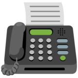 Fax Machine on Google Android 12.0