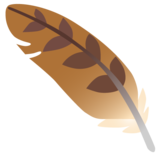 Feather on Google Android 12.0