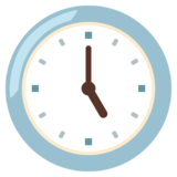 Five O'Clock on Google Android 12.0