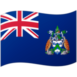 Flag: Ascension Island on Google Android 12.0