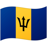 Flag: Barbados on Google Android 12.0