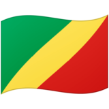 Flag: Congo - Brazzaville on Google Android 12.0
