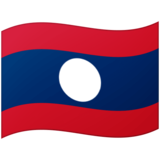 Flag: Laos on Google Android 12.0