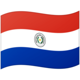 Flag: Paraguay on Google Android 12.0