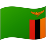 Flag: Zambia on Google Android 12.0
