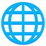 Globe with Meridians on Google Android 12.0