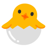 Hatching Chick on Google Android 12.0