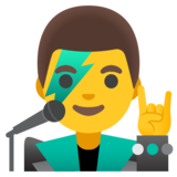Man Singer on Google Android 12.0