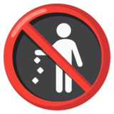 No Littering on Google Android 12.0