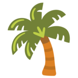 Palm Tree on Google Android 12.0