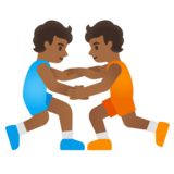 Wrestlers, Type-5 on Google Android 12.0