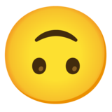 Upside-Down Face on Google Android 12.0