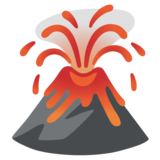 Volcano on Google Android 12.0