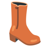 Woman's Boot on Google Android 12.0