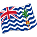 Flag: British Indian Ocean Territory on Google Android 5.0
