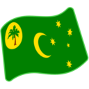Flag: Cocos (Keeling) Islands on Google Android 5.0