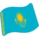 Flag: Kazakhstan on Google Android 5.0