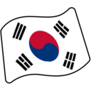 Flag: South Korea on Google Android 5.0
