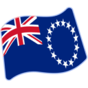 Flag: Cook Islands on Google Android 6.0.1