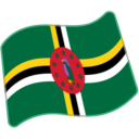 Flag: Dominica on Google Android 6.0.1
