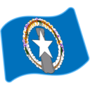 Flag: Northern Mariana Islands on Google Android 6.0.1