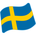 Flag: Sweden on Google Android 6.0.1