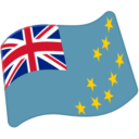 Flag: Tuvalu on Google Android 6.0.1
