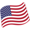 Flag: United States on Google Android 6.0.1