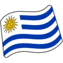 Flag: Uruguay on Google Android 6.0.1