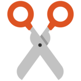 Scissors on Google Android 7.0