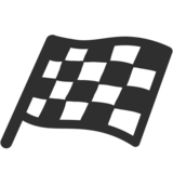 Chequered Flag on Google Android 7.0