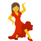 Woman Dancing on Google Android 7.0