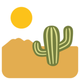 Desert on Google Android 7.0
