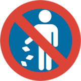No Littering on Google Android 7.0