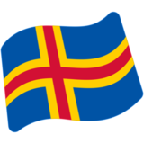 Flag: Åland Islands on Google Android 7.0