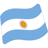 Flag: Argentina on Google Android 7.0