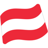 Flag: Austria on Google Android 7.0