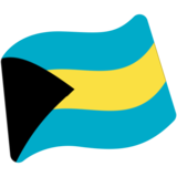 Flag: Bahamas on Google Android 7.0