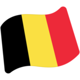 Flag: Belgium on Google Android 7.0