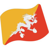 Flag: Bhutan on Google Android 7.0