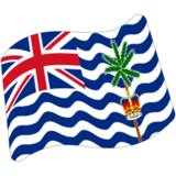 Flag: British Indian Ocean Territory on Google Android 7.0