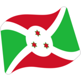 Flag: Burundi on Google Android 7.0