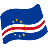 Flag: Cape Verde on Google Android 7.0