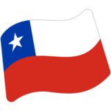 Flag: Chile on Google Android 7.0