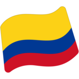 Flag: Colombia on Google Android 7.0