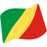 Flag: Congo - Brazzaville on Google Android 7.0
