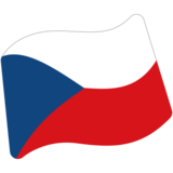 Flag: Czechia on Google Android 7.0