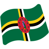 Flag: Dominica on Google Android 7.0